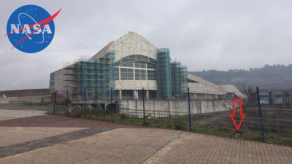 A NASA atopa restos da presenza humana na Cidade daCultura
