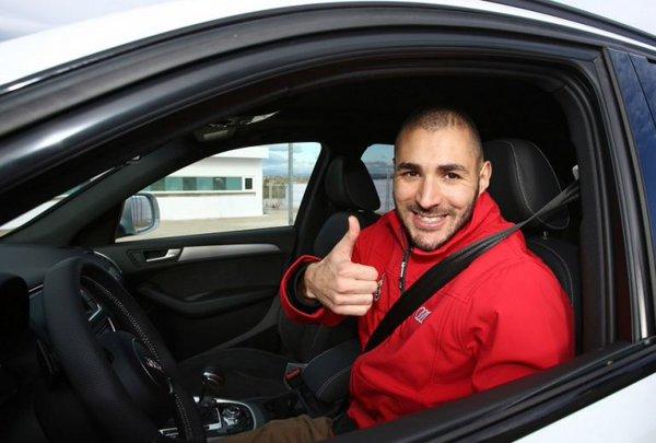 """Karim Benzema: """"Andan arecaudar"""""""