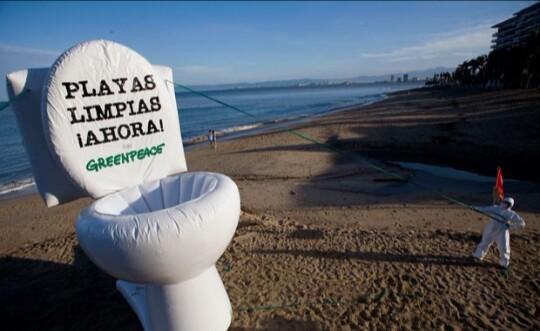 Greenpeace pide que se deixe de mandar xente a cagar ámarea
